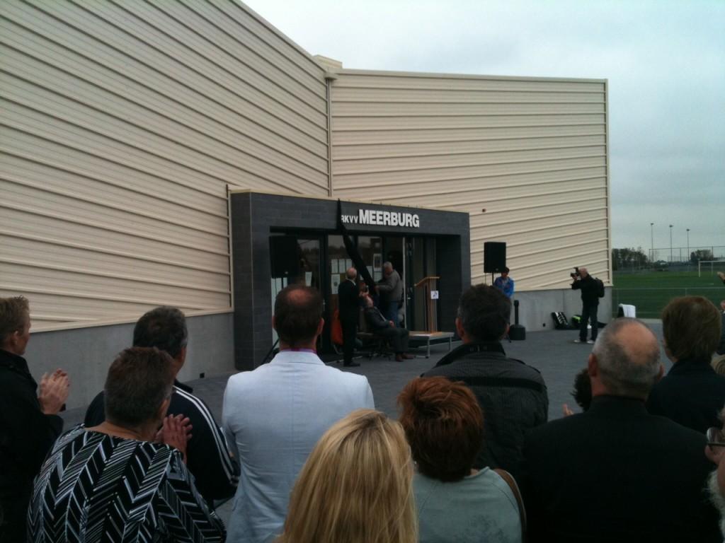 Opening clubgebouw RKVV Meerburg - Westvast BV