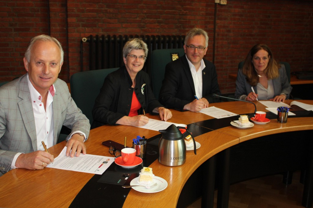 Intentieovereenkomst Stichting Voorschot - Westvast BV